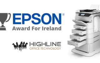 Highline Office Technology Wins Epson Award For Ireland